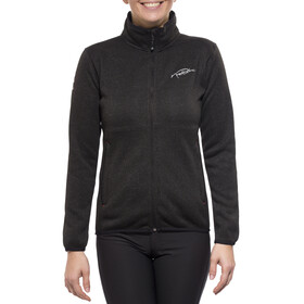 Nord Blanc Smooth Tecnopolar Sweater Jas Dames zwart
